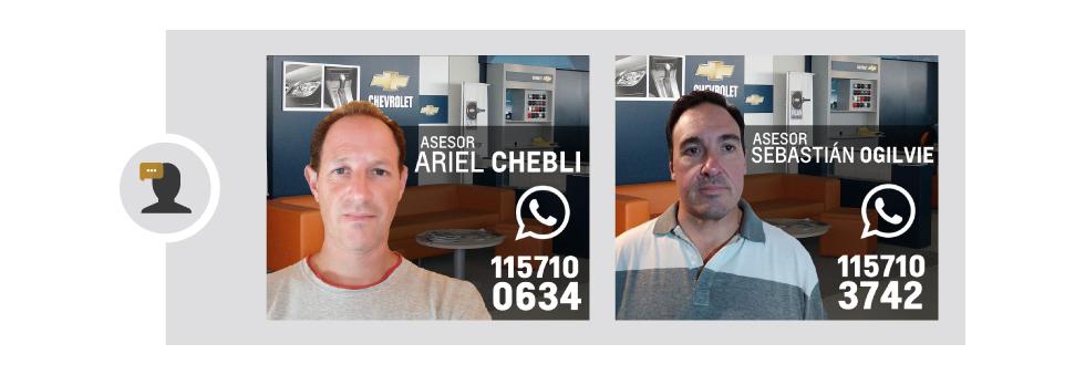 Asesores de Ventas Chevrolet en Ezeiza y Cañuelas