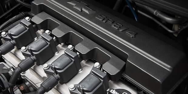 Potência do motor de 111 cavalos do Spin, novo carro de 7 lugares da Chevrolet
