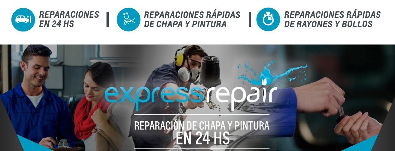 Chevrolet Express Repair reparación de chapa y pintura en 24 horas en Río Gallegos