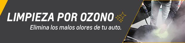 Servicio de Limpieza por Ozono Chevrolet Veneto