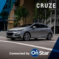 Chevrolet Cruze con OnStar en Andina Motors