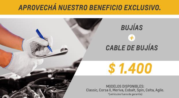 Oferta Servicios - Chevrolet Andina Motors