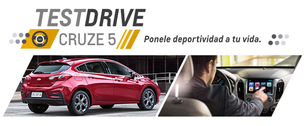 Chevrolet Test Drive Cruze 5