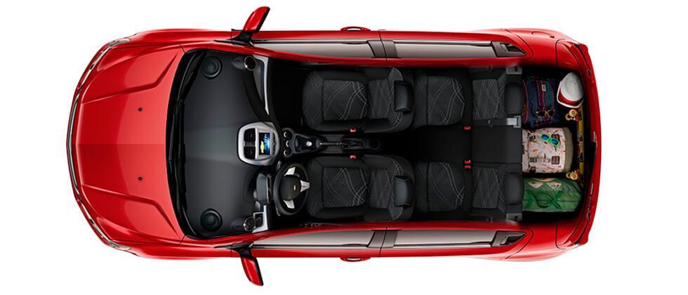 Spark GT mas espacio