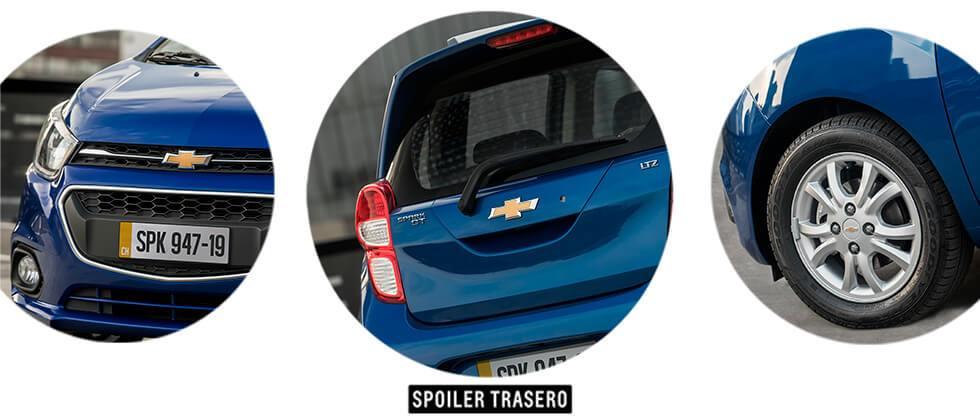 Spark GT detalle
