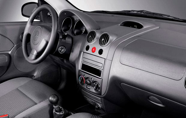 Chevrolet Aveo Family Interior
