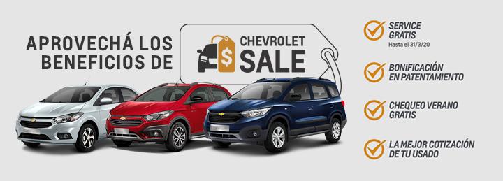Chevrolet Sale - Beneficios en Servicios en San Rafael, Mendoza