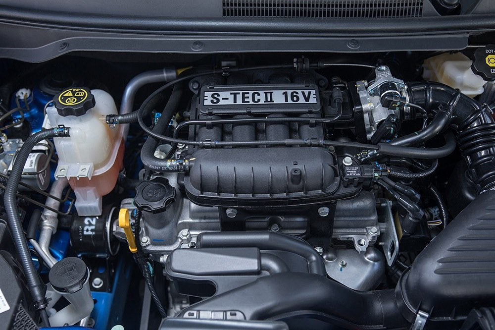 Chevrolet Beat Desempeño - Disfruta un motor con transmisión de cinco velocidades