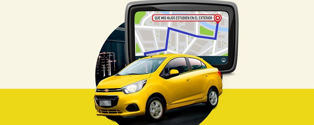 Concesionario Chevrolet - Usa la tecnología de tu carro nuevo Chevrolet chevytaxi plus