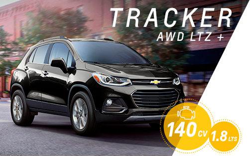 Test Drive Chevrolet Tracker