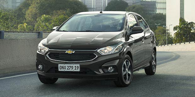 Novo carro hatch Chevrolet Onix 2019