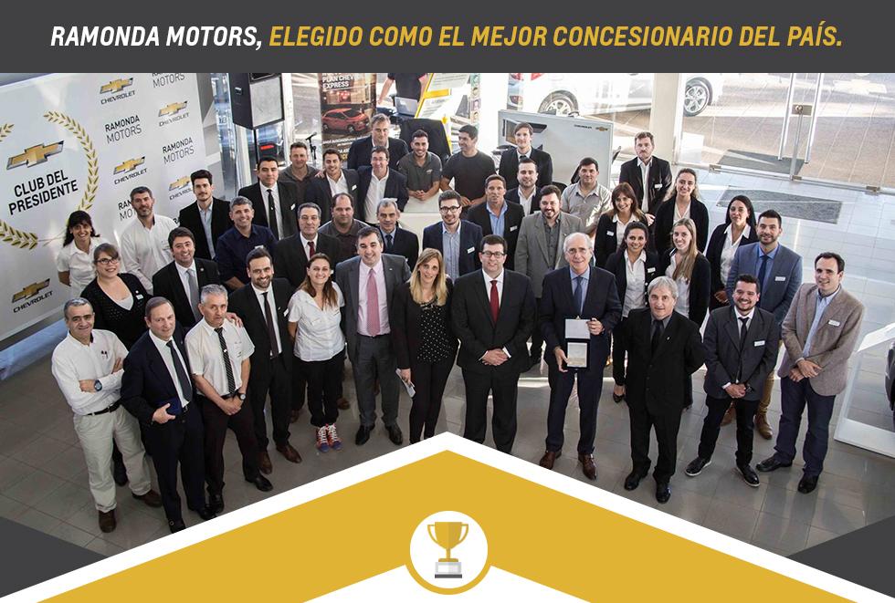 Chevrolet Ramonda Motors, el mejor concesionario del país
