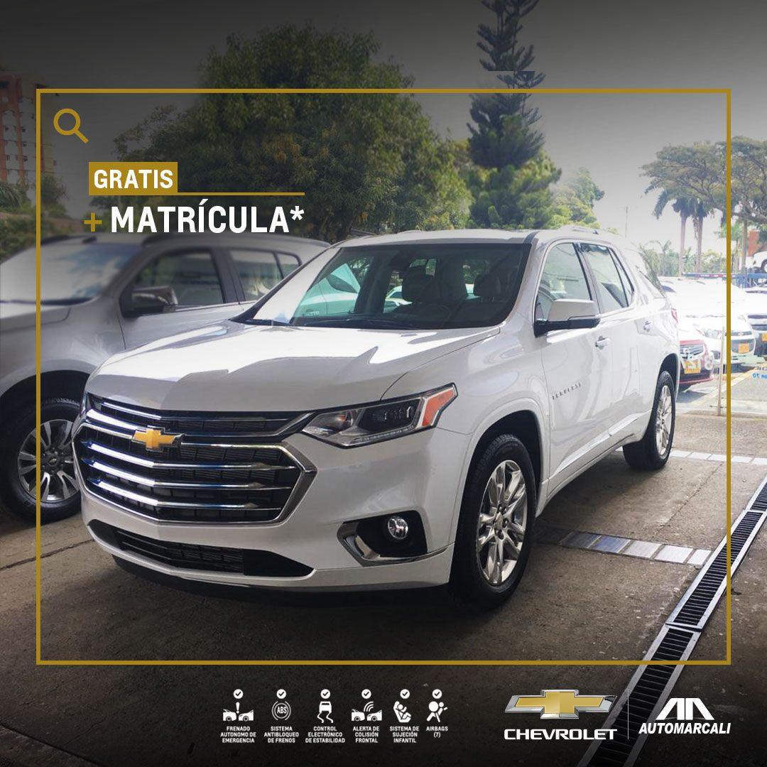 Chevrolet Automarcali - Camioneta premium Traverse
