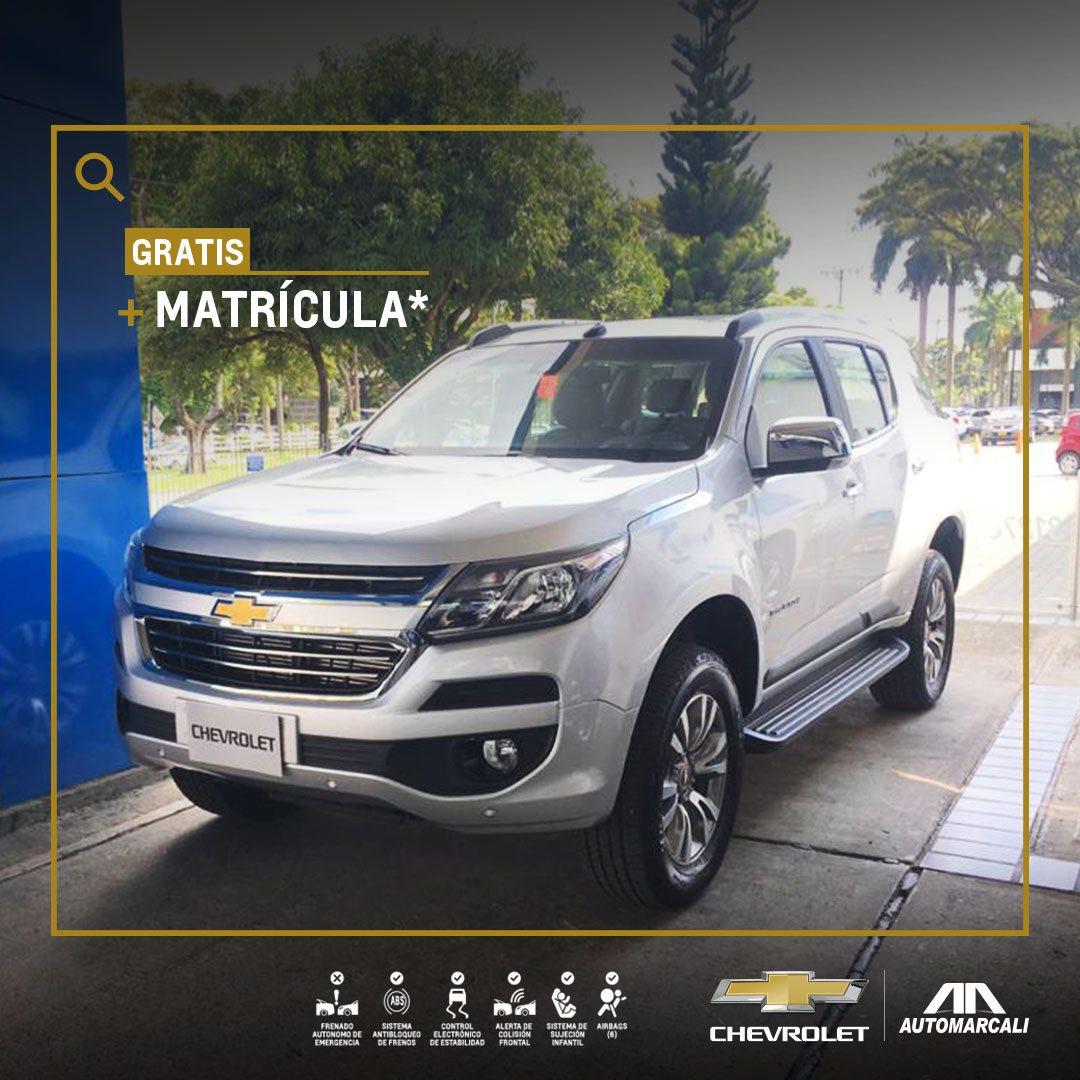 Chevrolet Automarcali - Camioneta premium Trailblazer