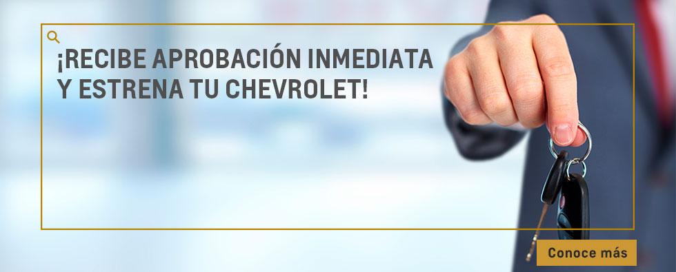 Chevrolet Automarcali - Estrena vehículo fácilmente