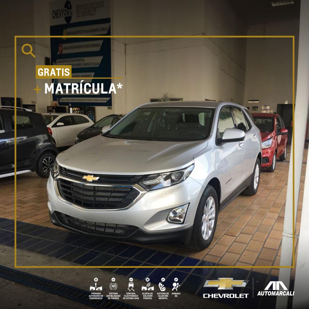 Chevrolet Automarcali - Estrena camioneta Equinox