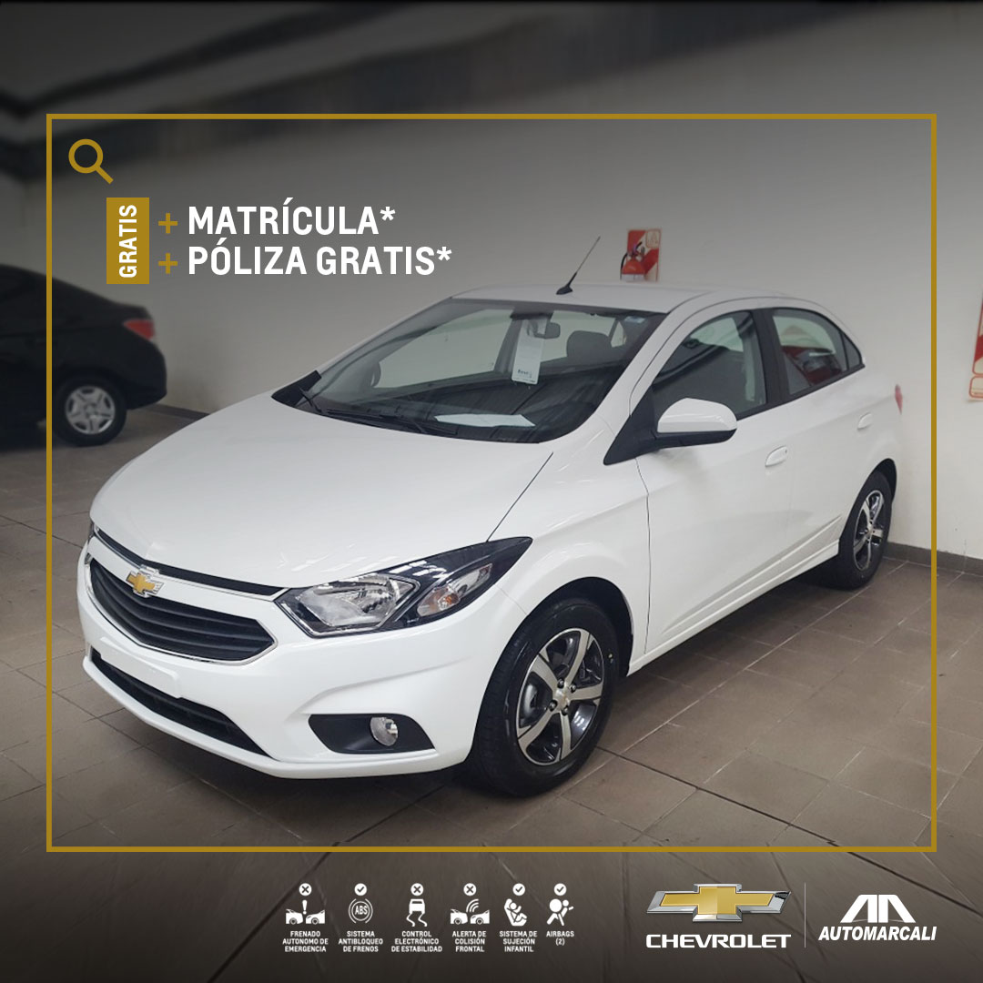 Chevrolet Automarcali - Compra tu nuevo carro Onix HB