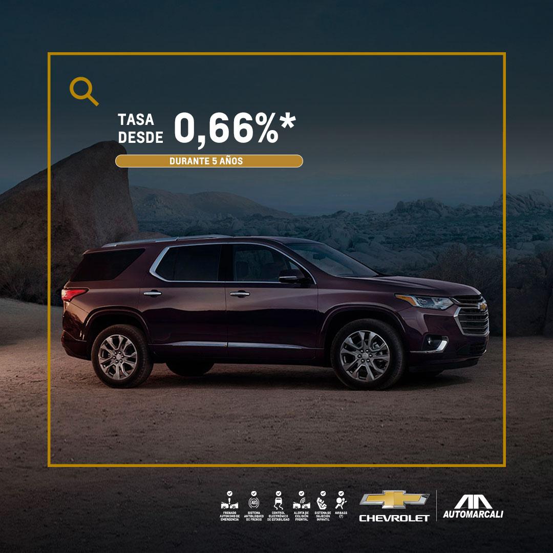 Concesionario Chevrolet - Estrena tu camioneta nueva Chevrolet Traverse