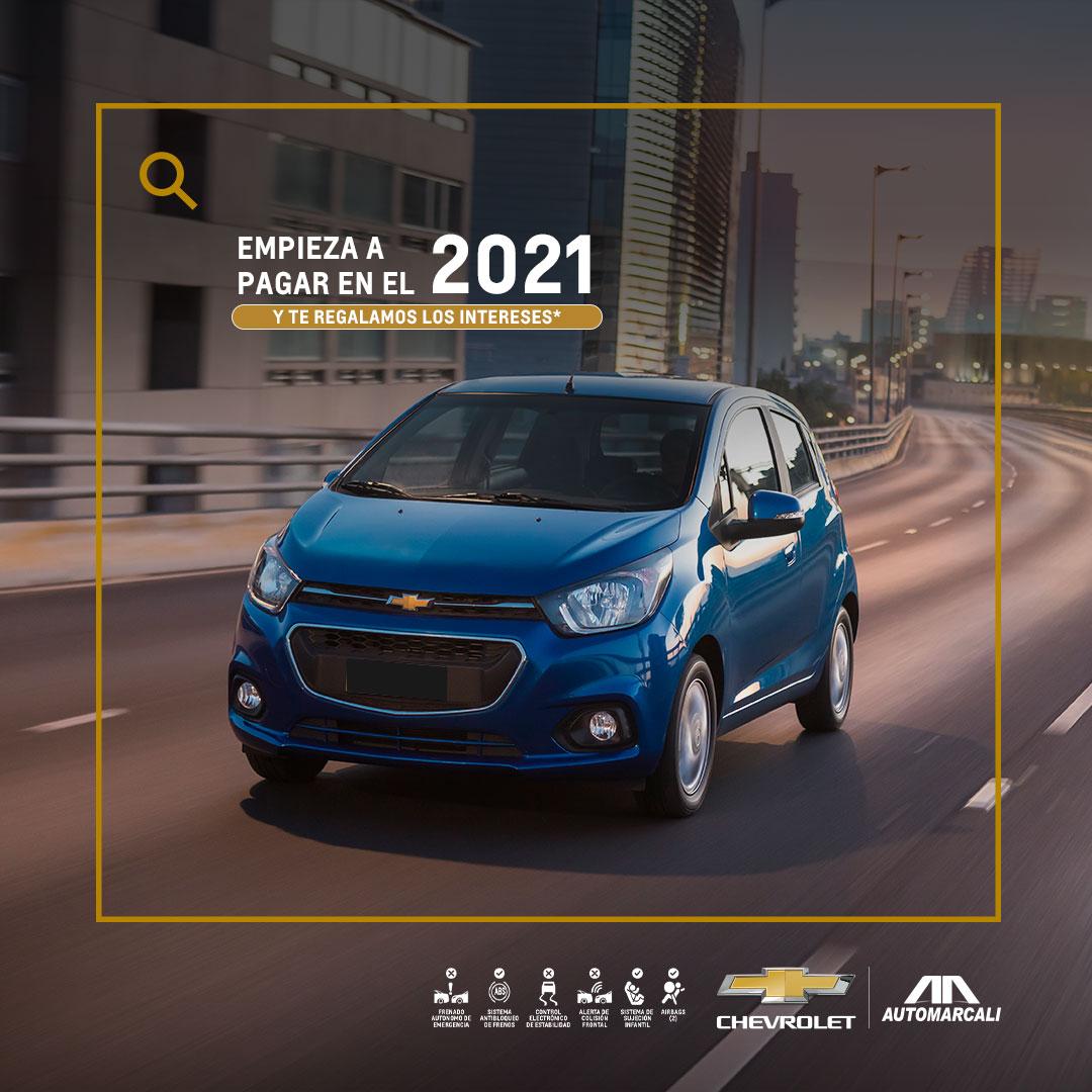 Concesionario Chevrolet - Estrena tu carro nuevo Chevrolet Spark GT