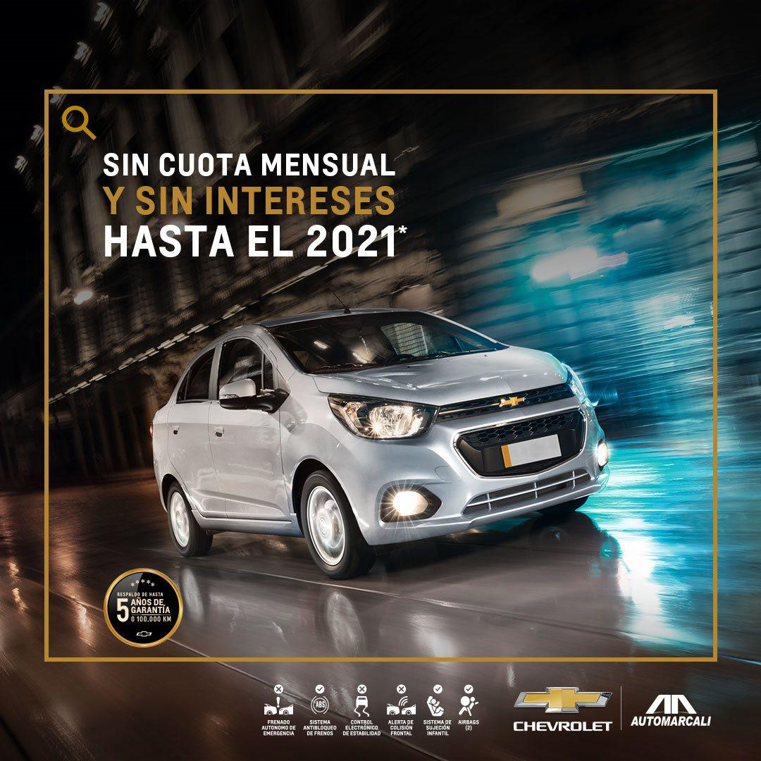 Chevrolet - carro nuevo