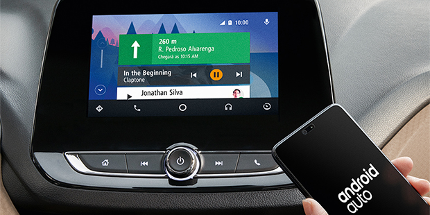Tecnologia Android Auto no Onix Plus 2021