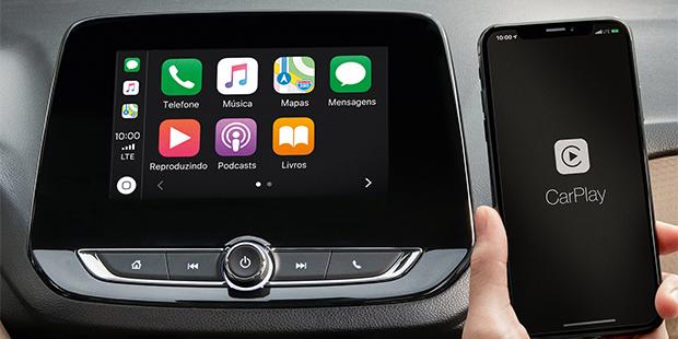 Onix Plus Premier 2021 com tecnologia Apple CarPlay