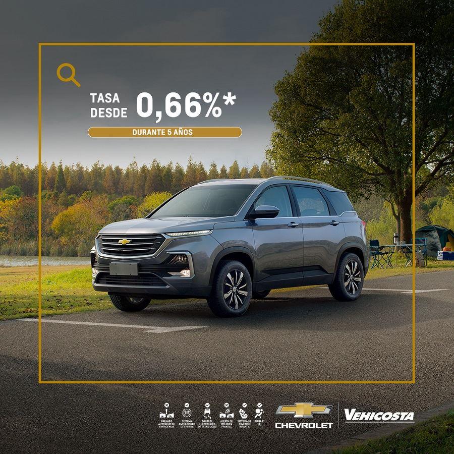 Concesionario Chevrolet - Estrena tu camioneta nueva Chevrolet Captiva