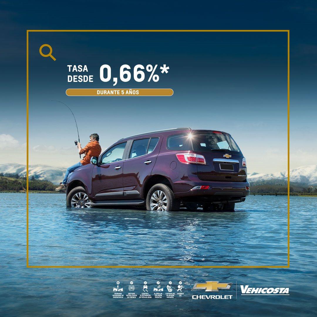 Concesionario Chevrolet - Estrena tu camioneta nueva Chevrolet Trailblazer