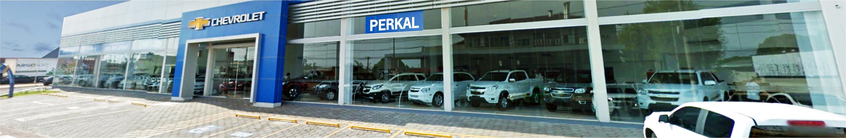 Venda e ofertas de carros novos e seminovos na concessionária Chevrolet Perkal. Peças genuínas GM, acessórios automotivos originais e serviços de manutenção e revisão de veículos.