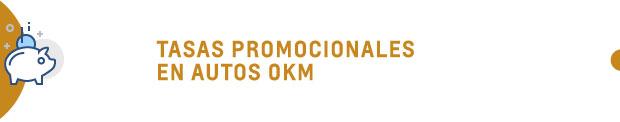 Tasas promocionales en autos 0km