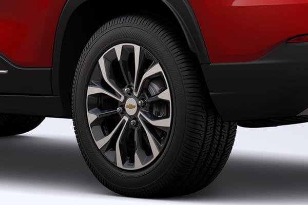 Chevrolet Groove Diseño exterior con llantas de aleación bitono