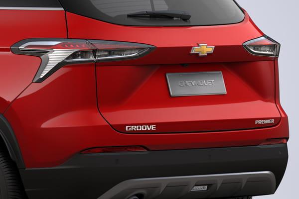 Chevrolet Groove Diseño de luces posteriores