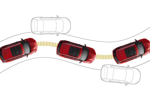 Seguridad Chevrolet Groove - Control electrónico de estabilidad
