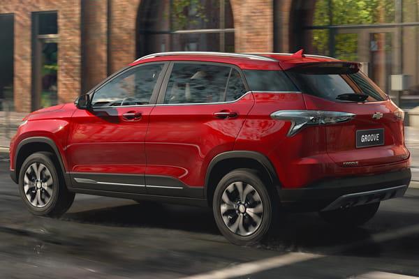 Chevrolet Groove Diseño rojo