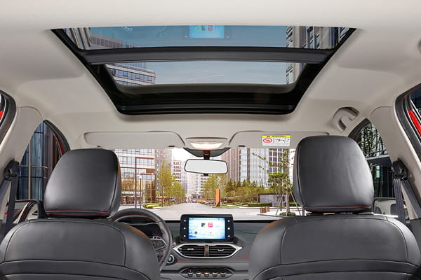 Chevrolet  Groove Diseño interior con sunroof