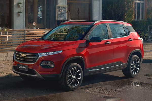 Galería Chevrolet Groove - Diseño rojo
