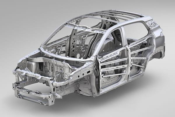 Seguridad Chevrolet Groove - Estructura