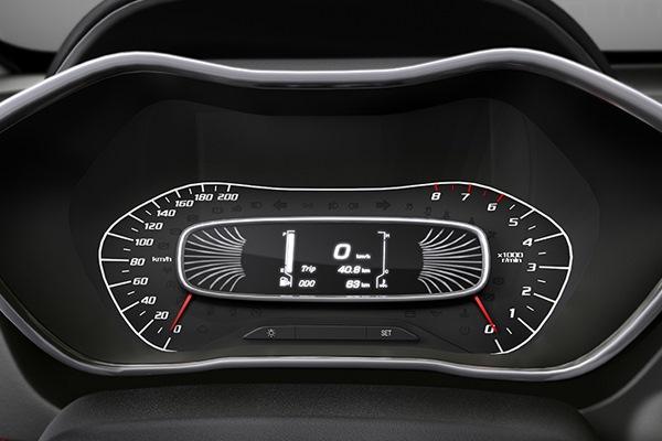 Tecnología Chevrolet Groove - Pantalla con información central
