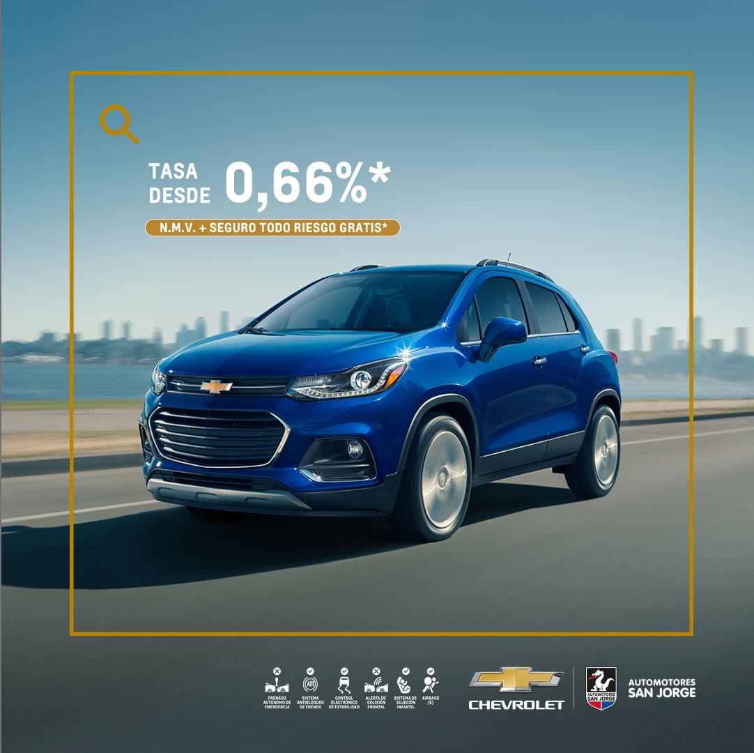Concesionario Chevrolet - Estrena tu carro nuevo Chevrolet Tracker