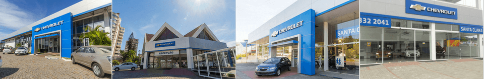 Venda e ofertas de carros novos e seminovos na concessionária Chevrolet Santa Clara. Peças genuínas GM, acessórios automotivos originais e serviços de manutenção e revisão de veículos.