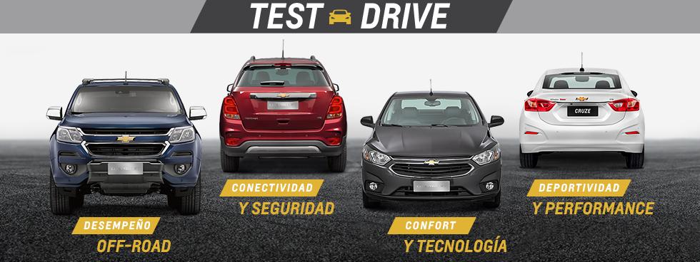 Chevrolet Test Drive en Comar Automotores